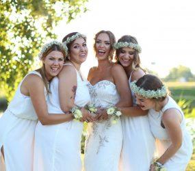 Kvetinové čelenky na svadbu