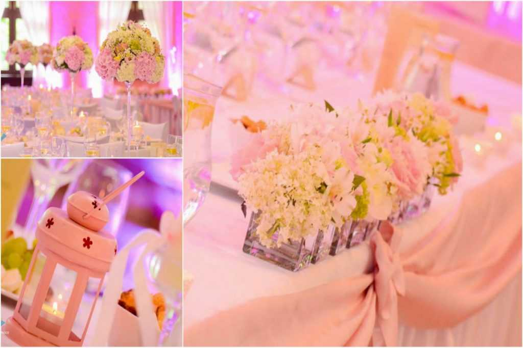vyzdoba svadba ruzova