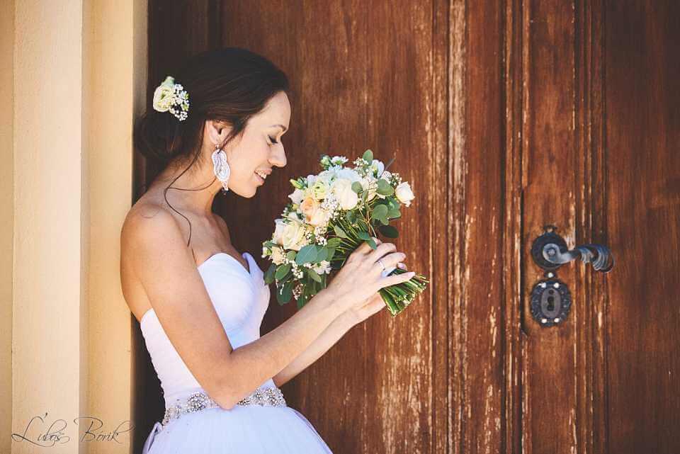 aranžovanie svadobnej kytice Nové Zámky