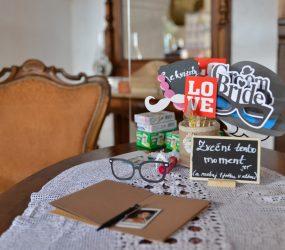 Svadobna vyzdoba stola Nove Zámky