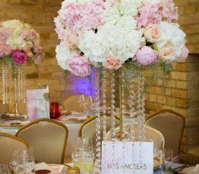 Kvetinová výzdoba na svadbu