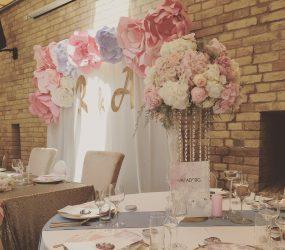 Jemná rozprávková výzdoba Pretty Wedding