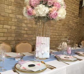 Jemná kvetinová výzdoba Pretty Wedding