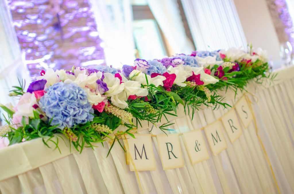 Kvetinová výzdoba na svadbu Nitra