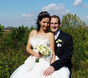 Umelecká svadobná fotografia