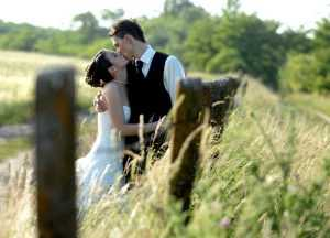 Svadobná fotografia v exteriéri