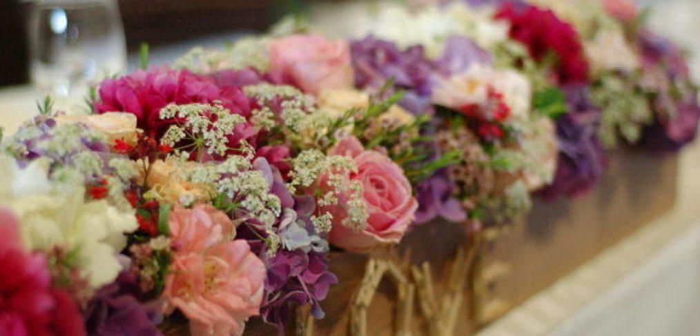 kvetinová dekorácia Komárno