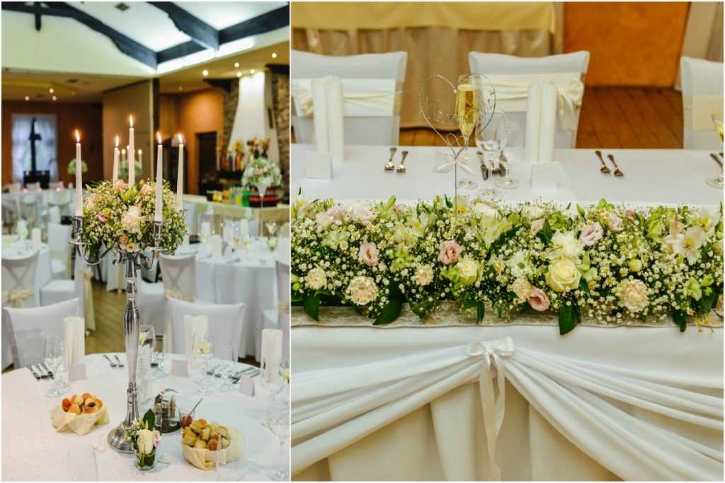 Luxusná svadobná výzdoba Berek