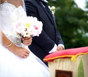 Malá svadobná kytica pre nevestu