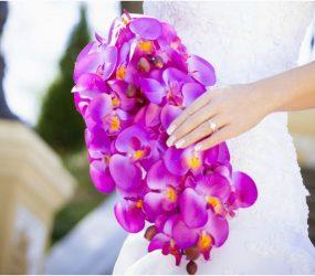 Orchydeová kytica na svadbu
