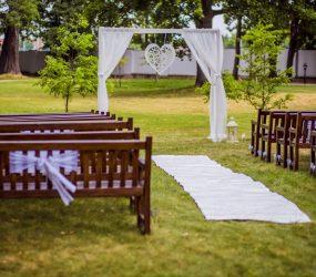 Svadobná výzdoba kaštieľ Oponice