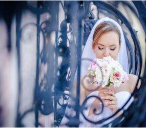 Svadobná kytica umelecká fotka