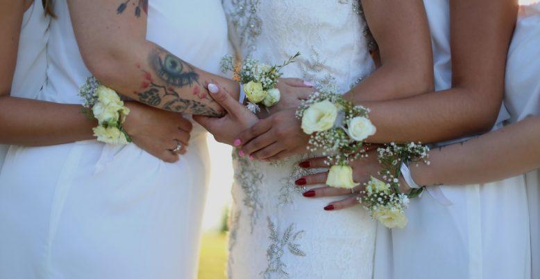 Kvetinové čelenky & náramky