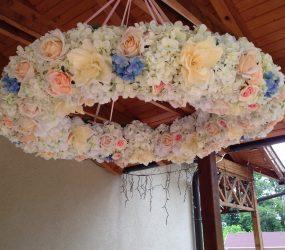 Kvetinová svadobná výzdoba Nové Zámky