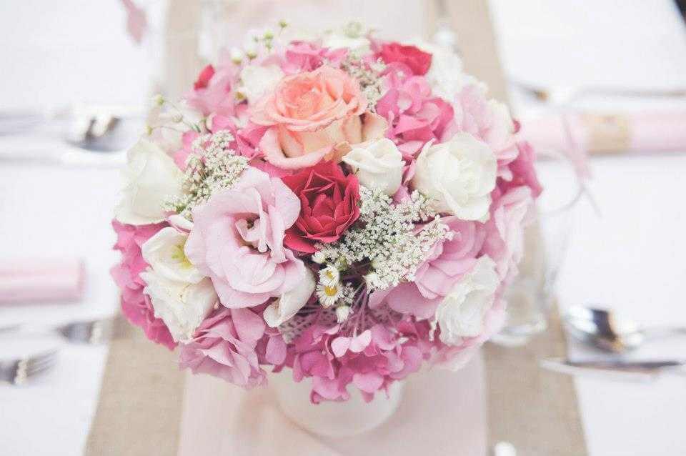 Ružová výzdoba Vintage Provence