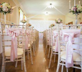 Výzdoba svadobných priestorov