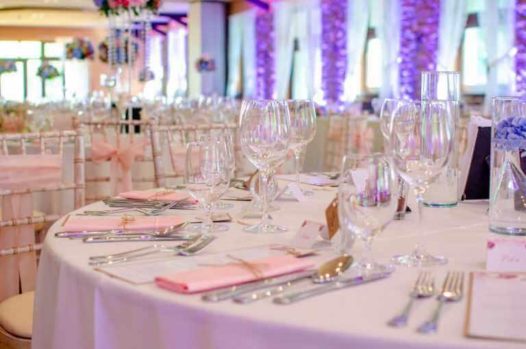 Výzdoba svadobnej sály Pretty Wedding Nové Zámky