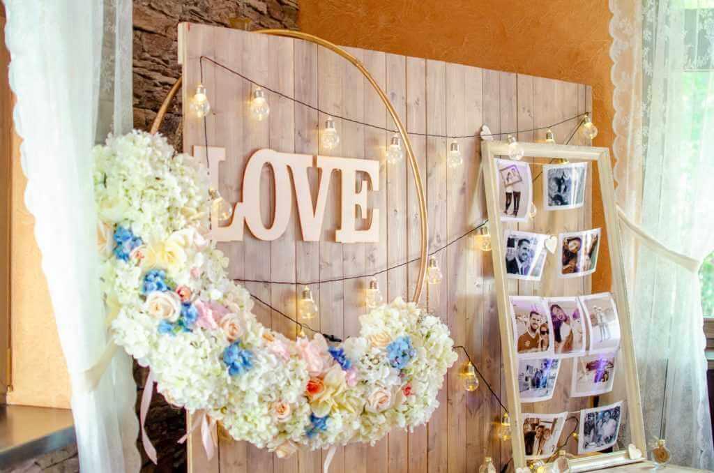LOVE písmená na svadbu Púchov