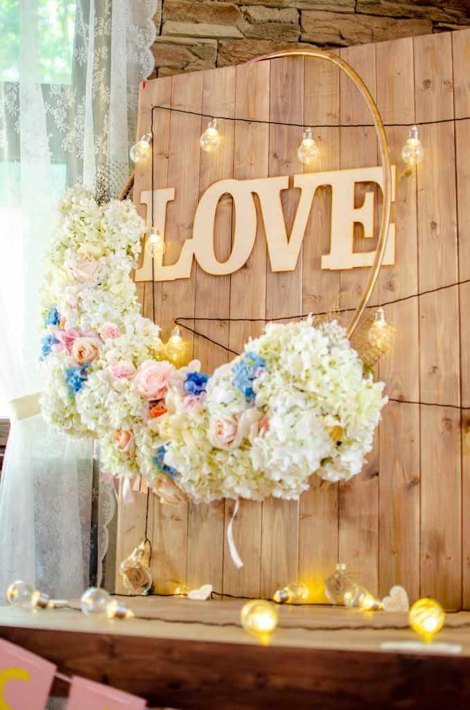 LOVE písmená na svadbu Bratislava