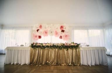 zlata svadobna vyzdoba Bratislava