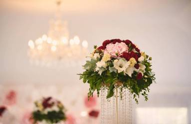 zlata svadobna vyzdoba Šurany