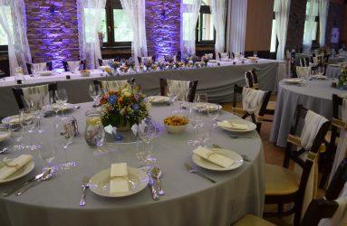svadobna vyzdoba v restauracii BEREK Nove Zamky