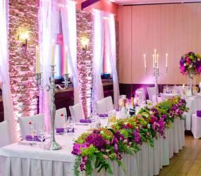 luxusna vyzdoba na svadbu Nesvady
