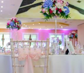 romanticka vyzdoba na svadbe Šurany