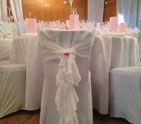 romanticka vyzdoba na svadbe Prievidza
