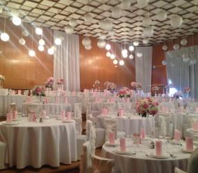 romanticka vyzdoba na svadbe Prešov